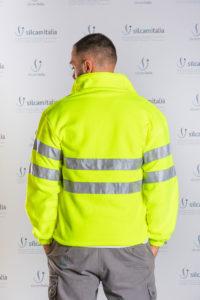 Pile full zip alta visibilità LIGHT Payper silcam italia Abbigliamento da lavoro, Antinfortunistica, Sicurezza sul Lavoro, DPI, Alta Visibilità