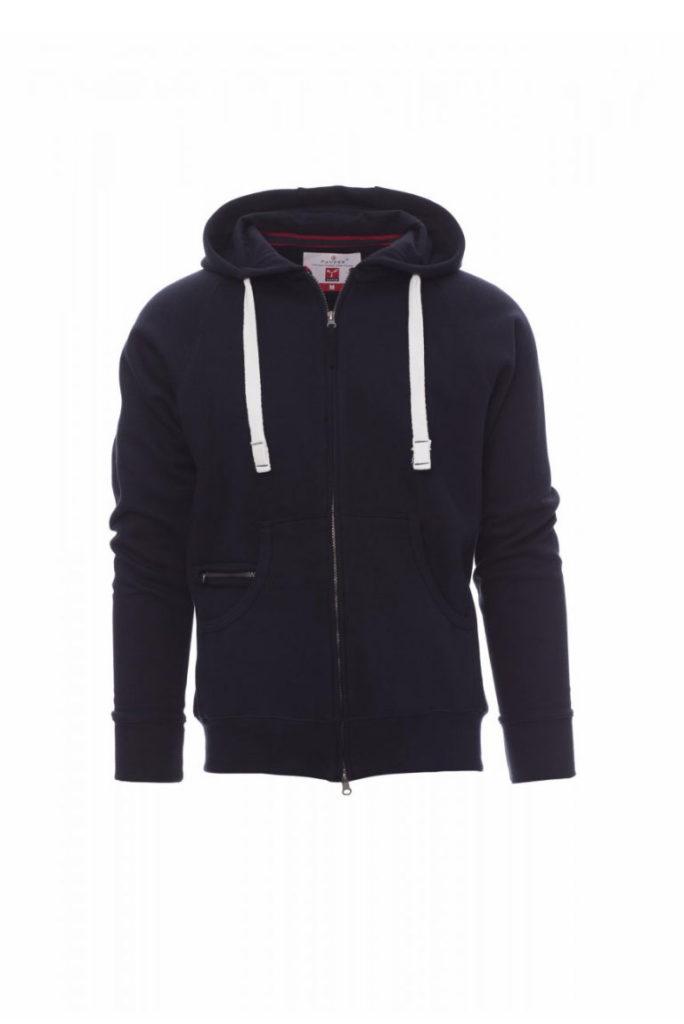 Felpa zip e cappuccio DALLAS+ Payper silcam italia Abbigliamento da lavoro, Antinfortunistica, Sicurezza sul Lavoro, DPI, Alta Visibilità