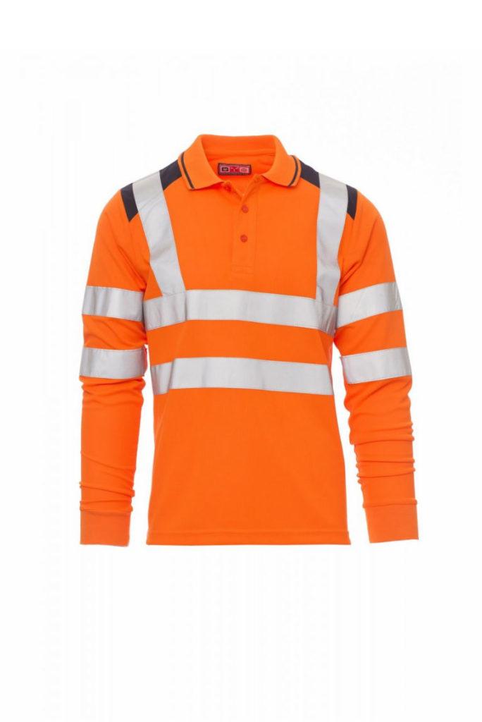 Polo alta visibilità GUARD+ winter Payper silcam italia Abbigliamento da lavoro, Antinfortunistica, Sicurezza sul Lavoro, DPI, Alta Visibilità
