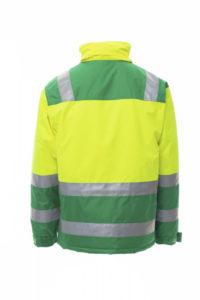 Giacca bicolore alta visibilità HISPEED Payper silcam italia Abbigliamento da lavoro, Antinfortunistica, Sicurezza sul Lavoro, DPI, Alta Visibilità