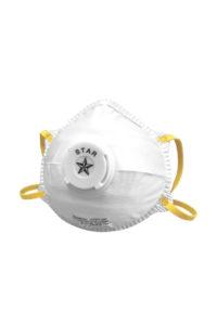 Mascherine a conchiglia FFP1 con valvola MASK 01 De Nittis silcam italia Abbigliamento da lavoro, Antinfortunistica, Sicurezza sul Lavoro, DPI, Alta Visibilità