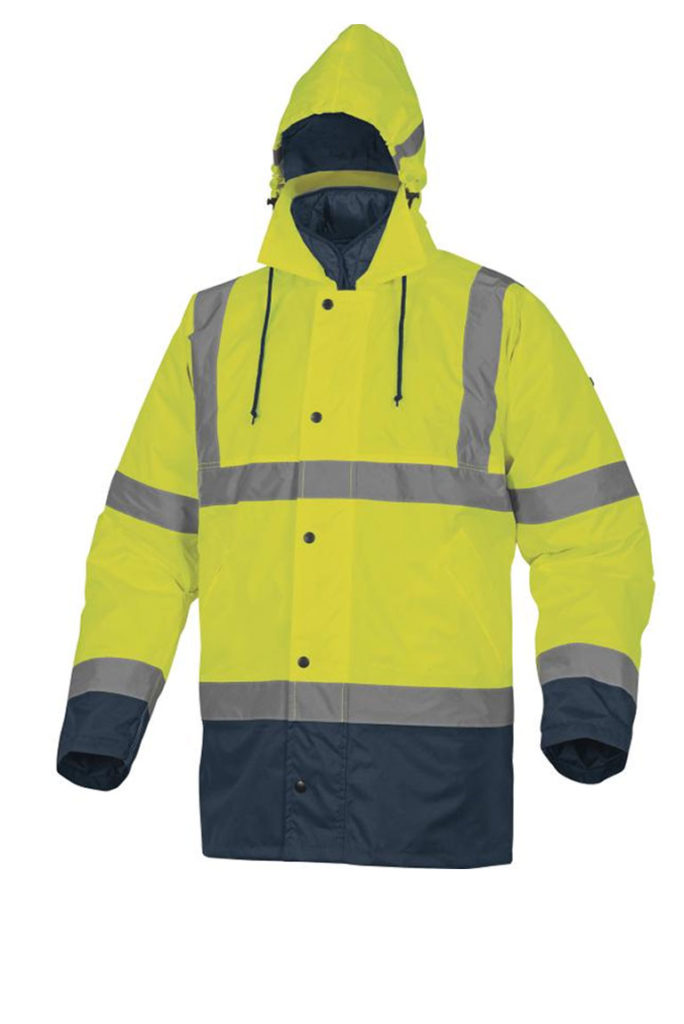 Parka alta visibilità RUNWAY Delta Plus silcam italia Abbigliamento da lavoro, Antinfortunistica, Sicurezza sul Lavoro, DPI, Alta Visibilità