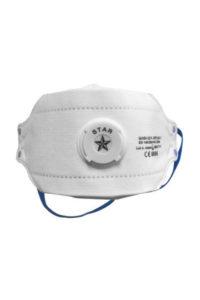 Respiratore pieghevole FFP2 con valvola MASK 02 P De Nittis silcam italia Abbigliamento da lavoro, Antinfortunistica, Sicurezza sul Lavoro, DPI, Alta Visibilità