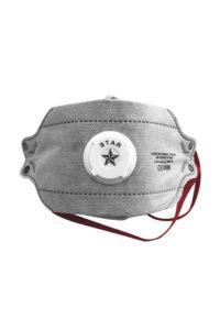 Respiratore pieghevole FFP3 con valvola MASK 03 P CARBON De Nittis silcam italia Abbigliamento da lavoro, Antinfortunistica, Sicurezza sul Lavoro, DPI, Alta Visibilità