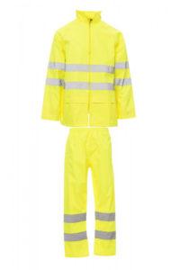 Completo antipioggia alta visibilità HI-VI RAINSET Payper silcam italia Abbigliamento da lavoro, Antinfortunistica, Sicurezza sul Lavoro, DPI, Alta Visibilità