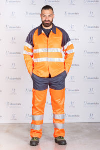 Giubbetto alta visibilità P-428-01 Silcam silcam italia Abbigliamento da lavoro, Antinfortunistica, Sicurezza sul Lavoro, DPI, Alta Visibilità