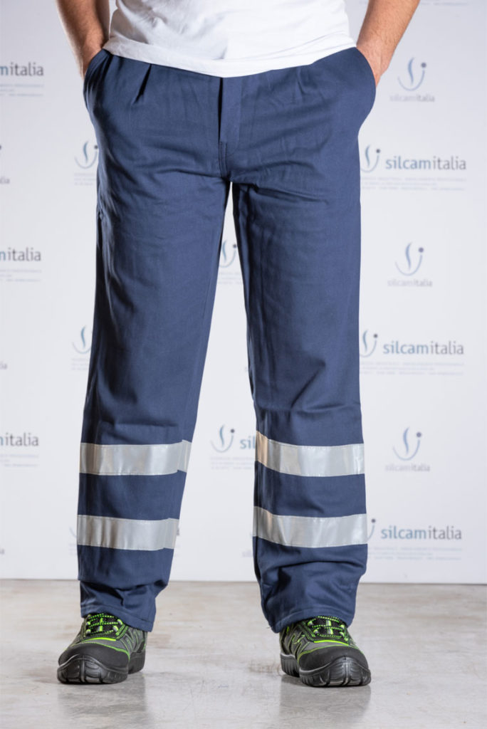 Pantaloni estivi con bande MASSAUA PEIB silcam italia Abbigliamento da lavoro, Antinfortunistica, Sicurezza sul Lavoro, DPI, Alta Visibilità