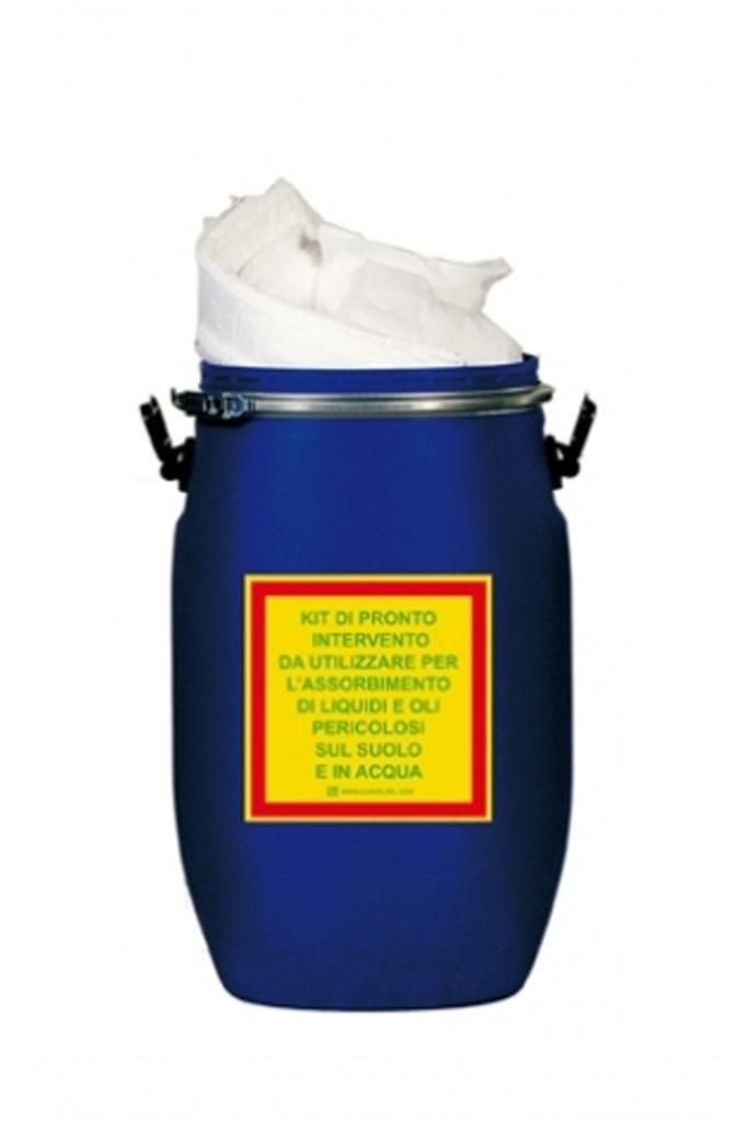 Kit per oli a tenuta stagna assorbenza 69 lt KIT060O CARVEL silcam italia Abbigliamento da lavoro, Antinfortunistica, Sicurezza sul Lavoro, DPI, Alta Visibilità