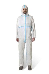 Tuta intera monouso SAFEMAN 010 De Nittis silcam italia Abbigliamento da lavoro, Antinfortunistica, Sicurezza sul Lavoro, DPI, Alta Visibilità